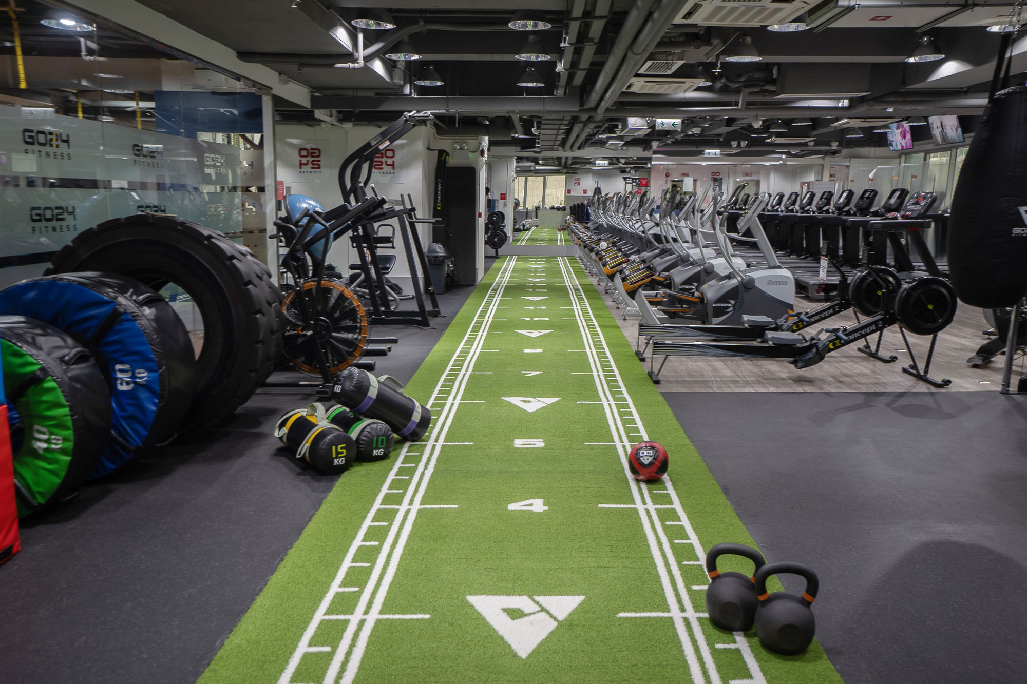 Great free weights area
